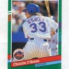 1991 Donruss Baseball #623 Charlie O'Brien - New York Mets