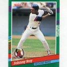 1991 Donruss Baseball #622 Johnny Ray - California Angels