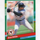 1991 Donruss Baseball #613 Ron Kittle - Baltimore Orioles