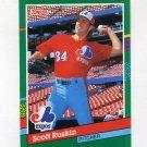 1991 Donruss Baseball #612 Scott Ruskin - Montreal Expos