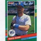 1991 Donruss Baseball #594 Tracy Jones - Seattle Mariners