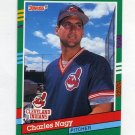 1991 Donruss Baseball #592 Charles Nagy - Cleveland Indians