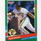 1991 Donruss Baseball #587 Gary Redus - Pittsburgh Pirates