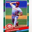 1991 Donruss Baseball #571 Jack Armstrong - Cincinnati Reds