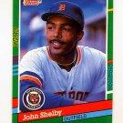 1991 Donruss Baseball #563 John Shelby - Detroit Tigers