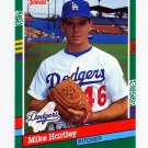 1991 Donruss Baseball #545 Mike Hartley - Los Angeles Dodgers