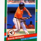 1991 Donruss Baseball #542 Randy Milligan - Baltimore Orioles