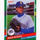 1991 Donruss Baseball #539 Brian Holman - Seattle Mariners