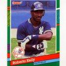 1991 Donruss Baseball #538 Roberto Kelly - New York Yankees
