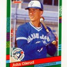 1991 Donruss Baseball #530 John Olerud - Toronto Blue Jays