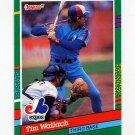 1991 Donruss Baseball #514 Tim Wallach - Montreal Expos