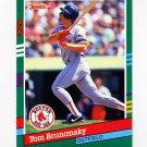 1991 Donruss Baseball #513 Tom Brunansky - Boston Red Sox