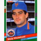 1991 Donruss Baseball #511 Wally Whitehurst - New York Mets
