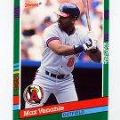 1991 Donruss Baseball #510 Max Venable - California Angels