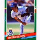 1991 Donruss Baseball #505 Jeff Montgomery - Kansas City Royals