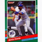 1991 Donruss Baseball #482 Alvin Davis - Seattle Mariners
