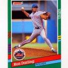 1991 Donruss Baseball #472 Ron Darling - New York Mets