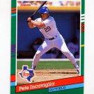 1991 Donruss Baseball #464 Pete Incaviglia - Texas Rangers
