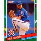 1991 Donruss Baseball #462 Rick Sutcliffe - Chicago Cubs