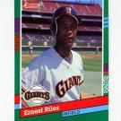 1991 Donruss Baseball #461 Ernest Riles - San Francisco Giants