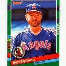 1991 Donruss Baseball #453 Bert Blyleven - California Angels