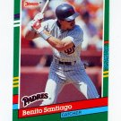 1991 Donruss Baseball #449 Benito Santiago - San Diego Padres