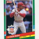 1991 Donruss Baseball #440 Chris Sabo AS - Cincinnati Reds