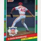 1991 Donruss Baseball #439 Jack Armstrong AS - Cincinnati Reds