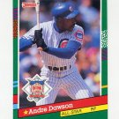 1991 Donruss Baseball #435 Andre Dawson AS - Chicago Cubs