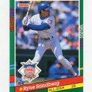 1991 Donruss Baseball #433 Ryne Sandberg AS - Chicago Cubs Ex