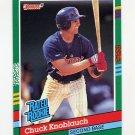 1991 Donruss Baseball #421 Chuck Knoblauch RR - Minnesota Twins