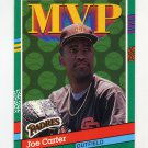 1991 Donruss Baseball #409 Joe Carter MVP - San Diego Padres