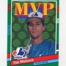 1991 Donruss Baseball #406 Tim Wallach MVP - Montreal Expos