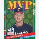 1991 Donruss Baseball #399 Bobby Thigpen MVP - Chicago White Sox