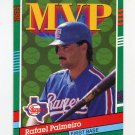 1991 Donruss Baseball #394 Rafael Palmeiro MVP - Texas Rangers