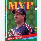 1991 Donruss Baseball #388 Lance Parrish MVP - California Angels