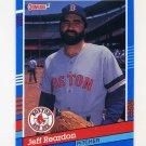 1991 Donruss Baseball #369 Jeff Reardon - Boston Red Sox