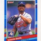 1991 Donruss Baseball #364 Lonnie Smith - Atlanta Braves