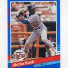 1991 Donruss Baseball #320 Shane Mack - Minnesota Twins