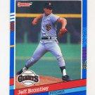 1991 Donruss Baseball #319 Jeff Brantley - San Francisco Giants