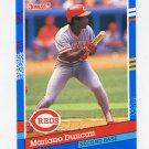 1991 Donruss Baseball #309 Mariano Duncan - Cincinnati Reds