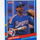 1991 Donruss Baseball #305 Jeff Huson - Texas Rangers
