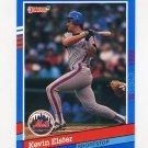1991 Donruss Baseball #304 Kevin Elster - New York Mets