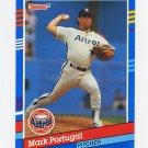 1991 Donruss Baseball #268 Mark Portugal - Houston Astros