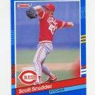 1991 Donruss Baseball #265 Scott Scudder - Cincinnati Reds