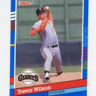 1991 Donruss Baseball #263 Trevor Wilson - San Francisco Giants