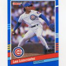 1991 Donruss Baseball #256 Les Lancaster - Chicago Cubs