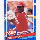 1991 Donruss Baseball #253 Glenn Braggs - Cincinnati Reds