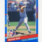1991 Donruss Baseball #249 Bobby Witt - Texas Rangers