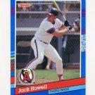 1991 Donruss Baseball #247 Jack Howell - California Angels